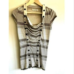 Anthropologie Pilcro and The Letterpress Blouse S